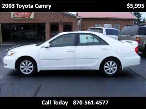 2003 Toyota Camry Used Cars Manila AR