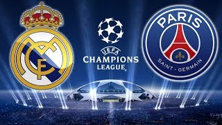 Real Madrid 3 x 1 PSG (14/02/2018) UEFA Champions League 2017/2018 [PES 2018]