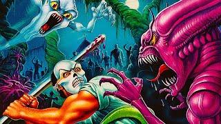 Splatterhouse 2 (Sega Genesis) Mİke Matei Live