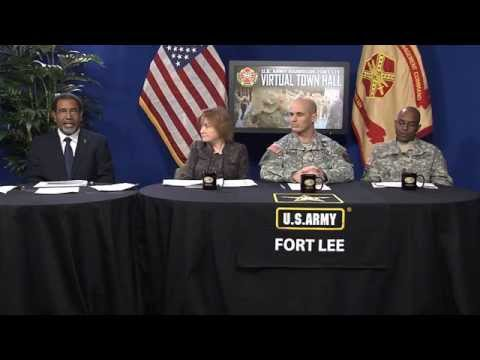 Fort Lee Virtual Town Hall Meeting – March 11, 2015