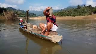 Lần đầu giăng câu bắt cá ngạnh, cá chép trên sông! Fishing