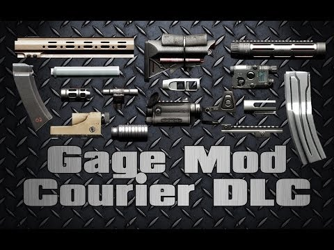 [Payday 2] Gage Mod Courier DLC pt. 2 |