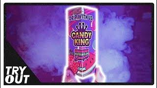 "Candy King ""Strawberry Watermelon Bubblegum"" E-Juice (Taste Test / Review) | Tryout"