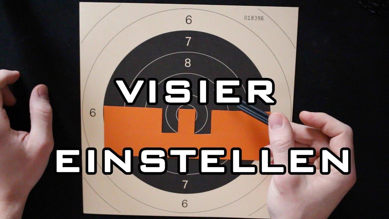 Visier einstellen fleck aufsitzend [deutsch] youtube