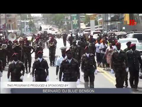 ARMED FORCES OF LIBERIA PARADE IN THE STREET OF Monrovia