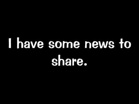 I have some news to share! - YouTube