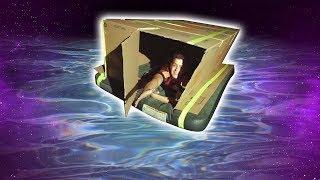 ME ESQUECERAM NA CASA FLUTUANTE DENTRO DO LAGO !!!! **BOX FORT ** ‹ JonVlogs ›