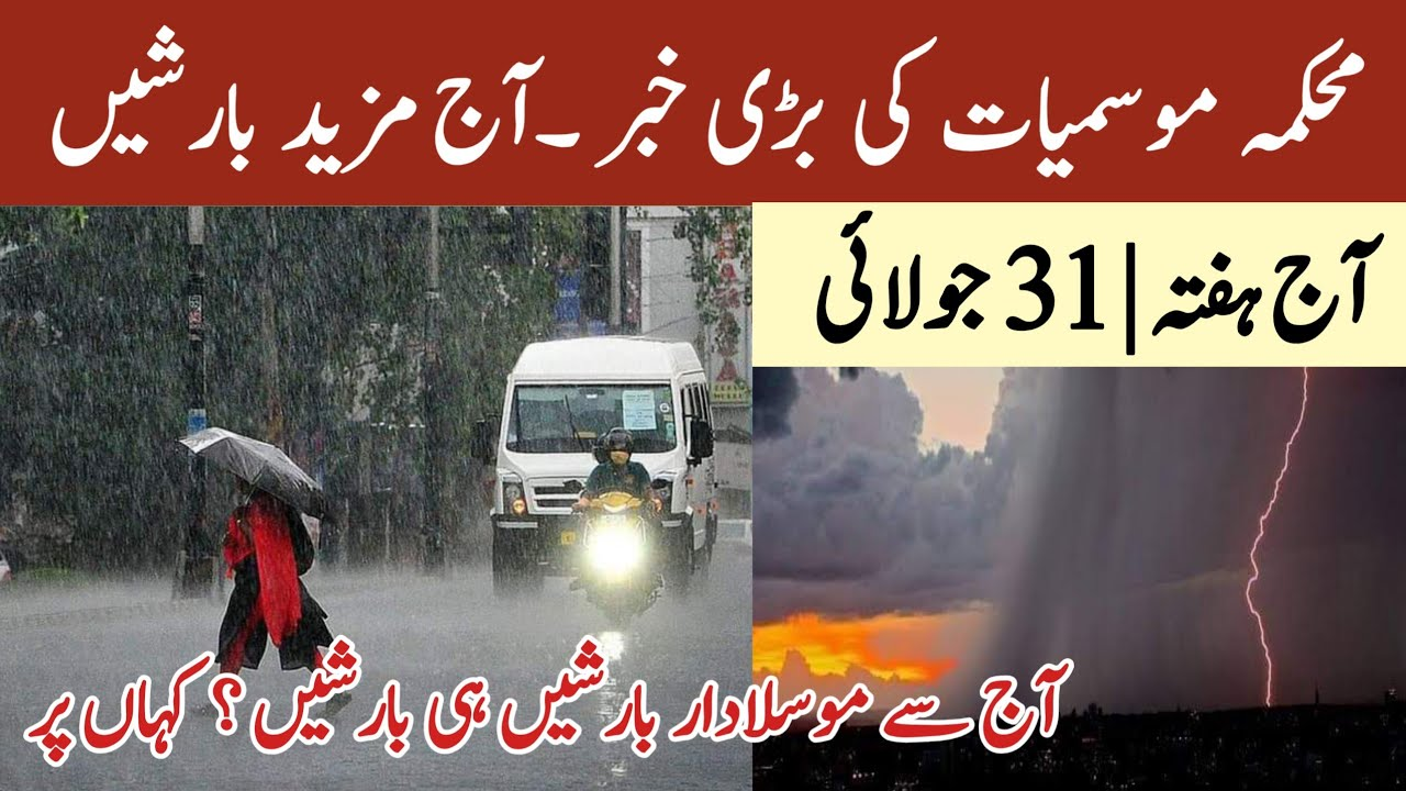 Today More Heavy Rains Expect | Weather Today | Pakistan Weather Forecast | Weather Report