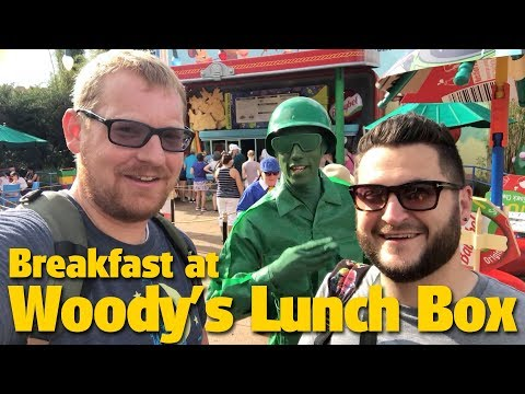 Breakfast At Woody's Lunch Box | Toy Story Land | Disney's Hollywood Studios