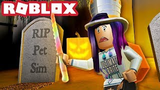 CARVING PUMPKINS WITH A RAINBOW KNIFE! | Roblox Pumpkin Carving Simulator