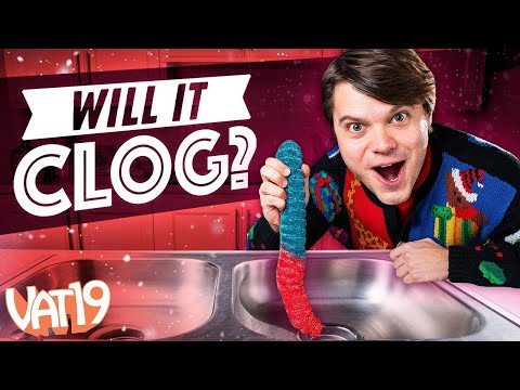 Will it Clog? World's Largest Gummy Worm!