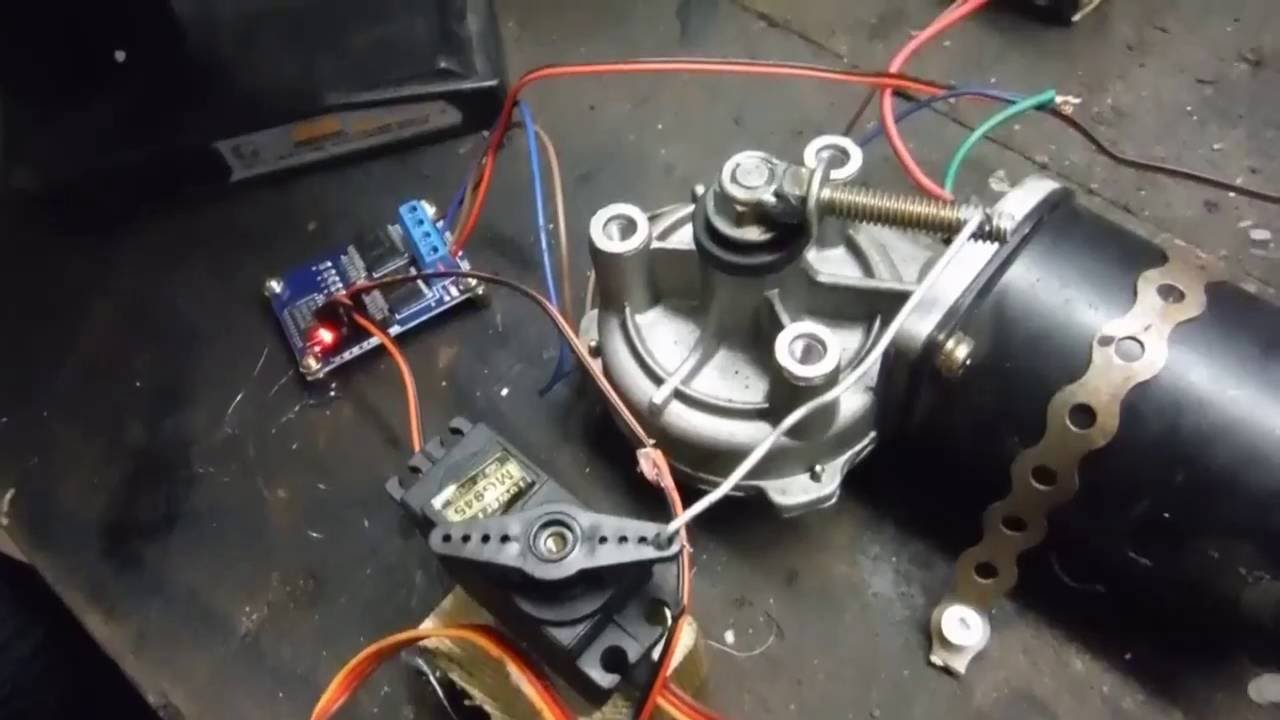Wiper Motor Servo Wiring Diagram