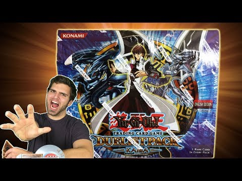 Best MASSIVE Duelist Pack Kaiba Booster Box Opening! OH BABY!!