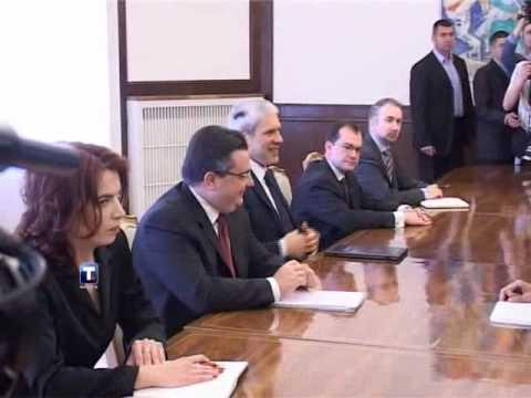 Predsednik Boris Tadić I Ministar Ivica Dačić Sastali Se Sa Bramercom