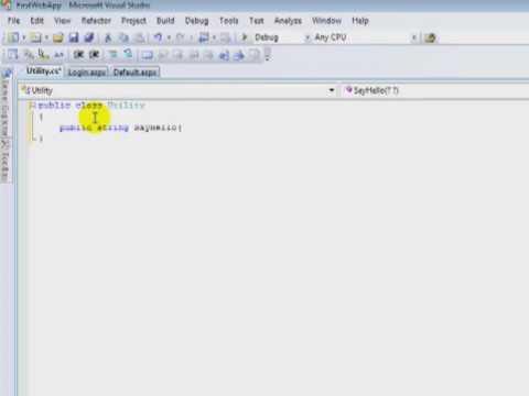 Download ASP.NET Web Site vs Web Application
