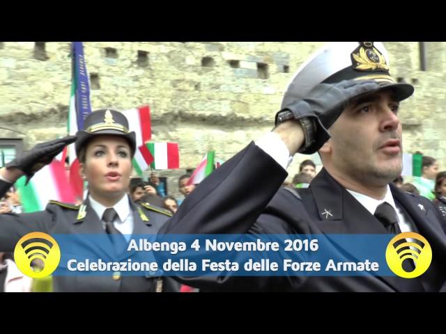 Albenga celebra le Forze Armate, ricordando i nostri caduti di tutte le guerre: video #1