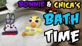 - Freddy Fazbear and Friends Bonnie Chica s Bath Time