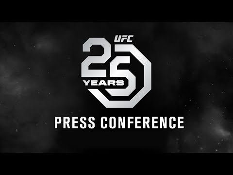 UFC 25th Anniversary Press Conference