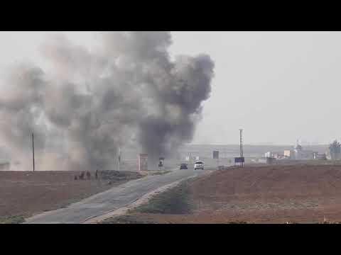 Turkish Armored Vehicles In Northeastern Syria