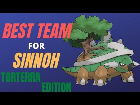 The Best Team For Pokemon Brilliant Diamond And Shining Pearl Torterra Edition Sinnoh Gen 4 Remakes