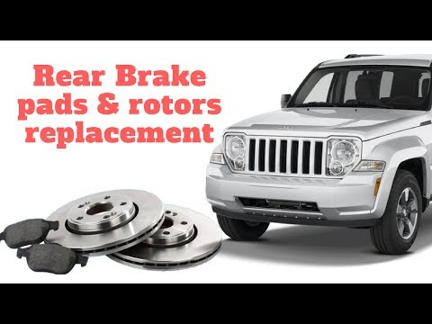 Jeep Liberty Brake replacement. Pads & rotors.