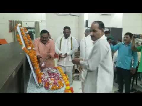 यूपी बलरामपुर भाजपा कार्यालय अटल भवन पर पूर्व मुख्यमंत्री कल्याण सिंह को दी गई श्रद्धांजलि. बलरामपुर
