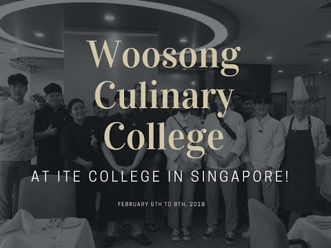 Woosong Culinary College at  ITE College in Singapore