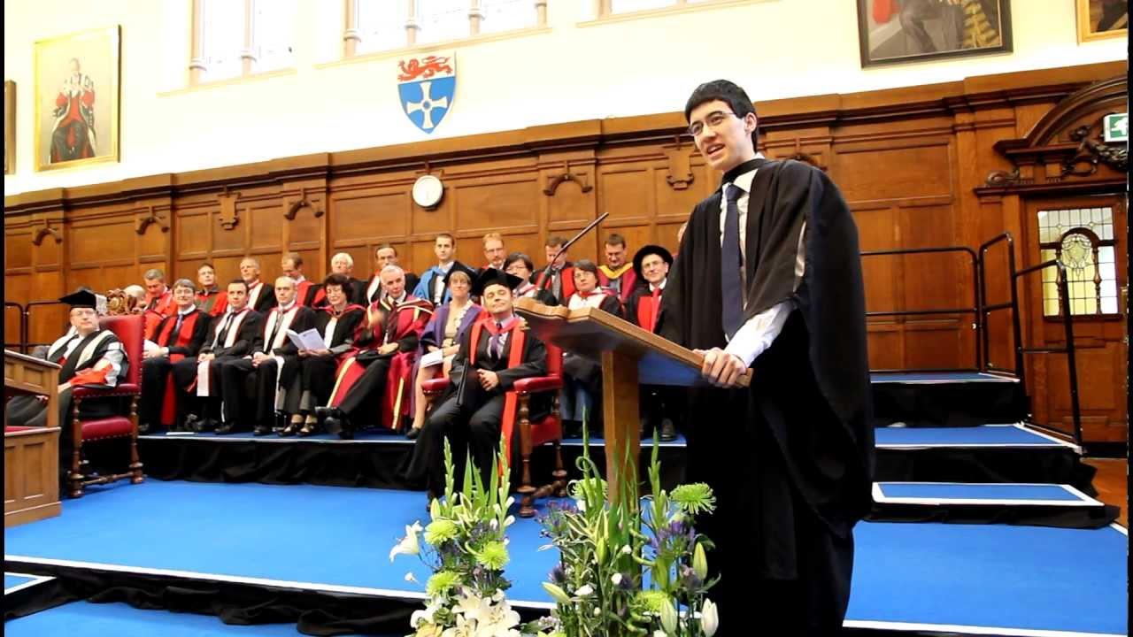 38561222304 Newcastle University Graduation Speech 2012 - Mathematics and Statistics.