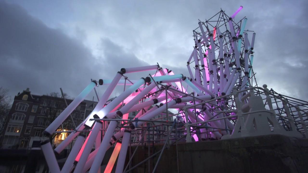 Nexus, A Light Art Installation, 2016