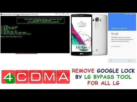 BYPASS GOOGLE ACCOUNT LG G4 G3 FLEX2 STYLO 6 0 (LG Bypass Tool