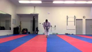 June 24 2014 Basic kata self-review, slow with focus on body dynamics and timing | Shotokan Karate