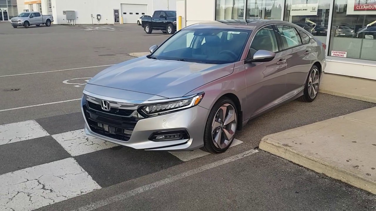 2018 Honda Accord Touring 1 5l Review