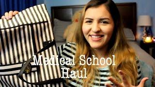 Medical School Haul