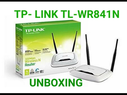 TP Link WiFi Router Unboxing TL- WR841N Hindi