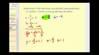 Parallel  and Perpendicular Lines - Part 1