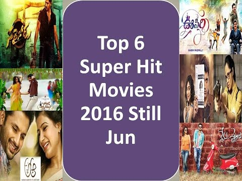 6 Super Hit TeluguMovies I 2016 Half yearly Tollywood Report I Box Office Collections