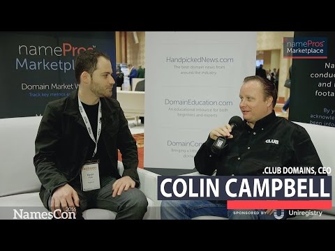 Interview: Colin Campbell of .Club Domains
