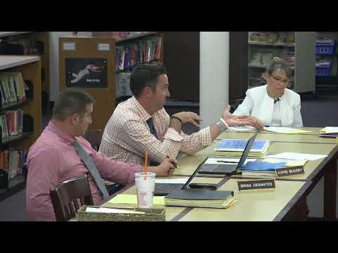 Halifax Elementary School Committee - September 5, 2017  (9/5/17)