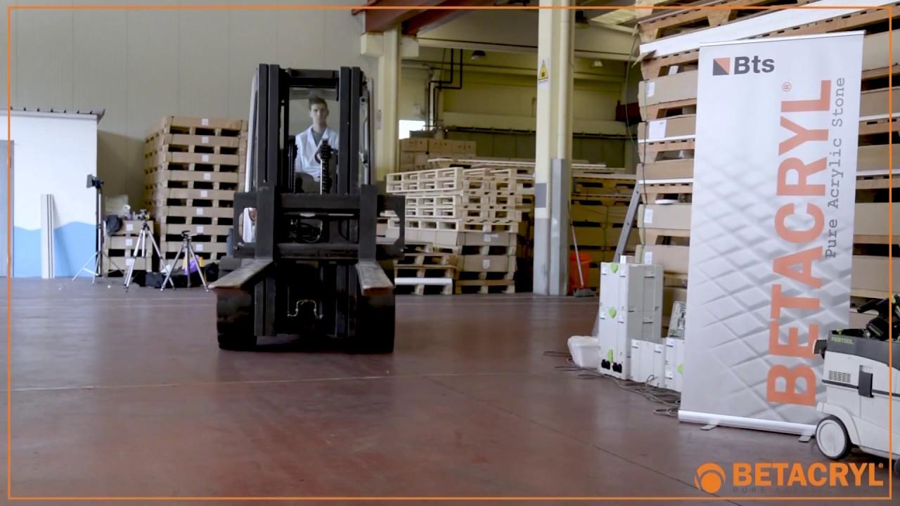 Betacryl Pure Acrylic Stone 01 transporte y desplazamiento