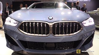 2019 BMW M850i Coupe - Exterior and Interior Walkaround - Debut at 2018 LA Auto Show