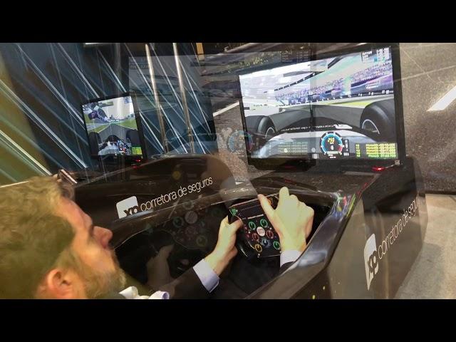 Simuladores Cockpit F1 XP Seguros @ Expert 2018