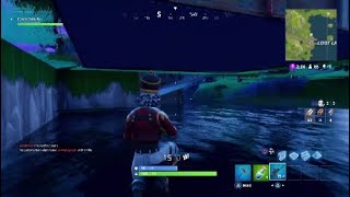 Fortnite How to go underground on Loot Lake *Glitch