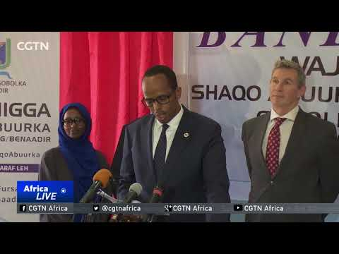 Somali government, UN start youth employment programme