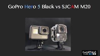 SJCAM M20 Better than the New GoPro Hero 5 Black? Shocking Proof!!!
