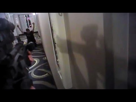Footage Shows Man Begging For His Life Before Officer Shoots Him Dead in Hotel
