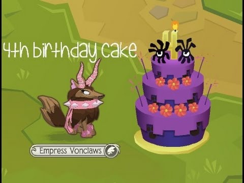 Code For 3rd Birthday Cake Animal Jam Image Inspiration of Cake