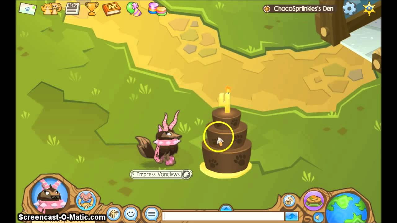 Animal Jam 4th Birthday Cake Secret Order ChocoSpriinkles YouTube