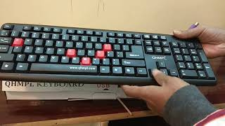 Cheapest Price PS2 Keyboard Review - Quantum Computer Keyboard