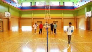 DVD 7HEROESのバトミントン対決!! 五十嵐vs三上 バトミントンってこん...