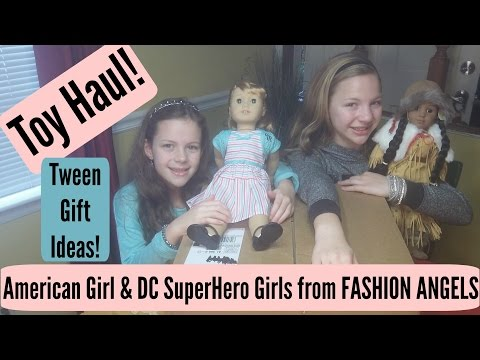Fashion Angels, American Girl & DC SuperHero Girls Toy Haul!